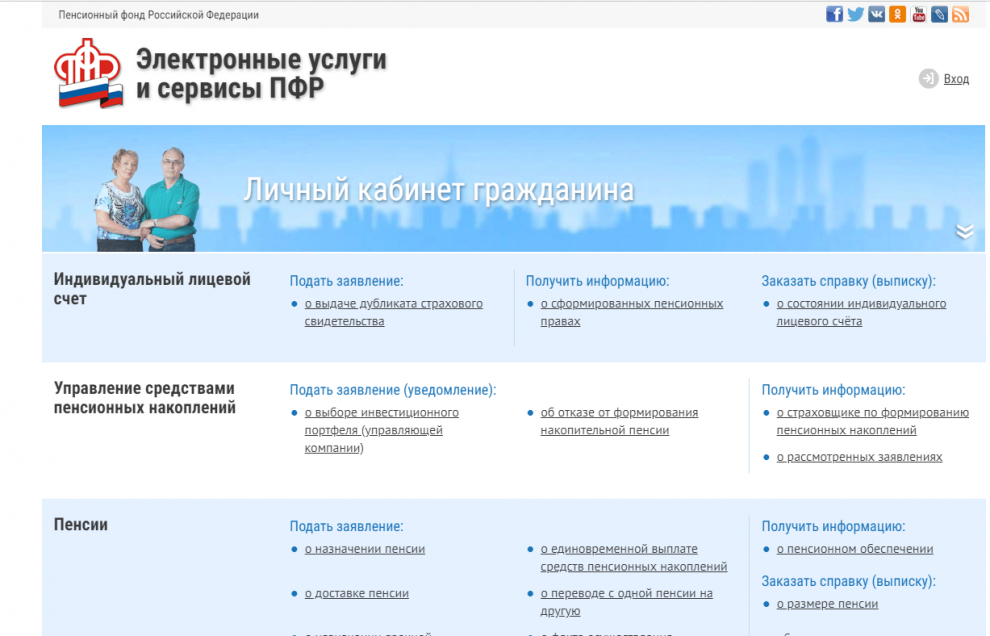 Пенсионный фонд личный кабинет в глазове минимальный пенсия в россии